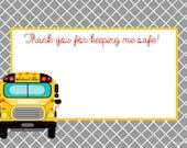 Bus Printable Teacher Stationery