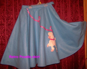 Rock Around in this Retro Poodle Skirt