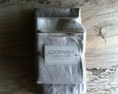 Organic Baby Giftset - Linen - Includes Quilted Blanket, Two Burp Cloths - Organic Cotton and Linen - GoodwinsCustomCrafts