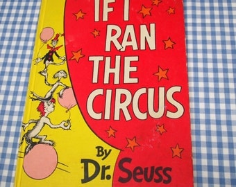 if i ran the circus, vintage 1956 children's book