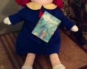 "1990 NWT Eden Madeline 13"" Cloth Doll"