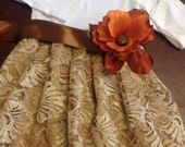 Baby Girl gold lace dress 24m ready to ship sale
