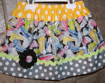 Girls skirt, Skirt, Infant skirt, toddler skirt, Custom..Shoes..sizes 0-6 mon, to10 girls