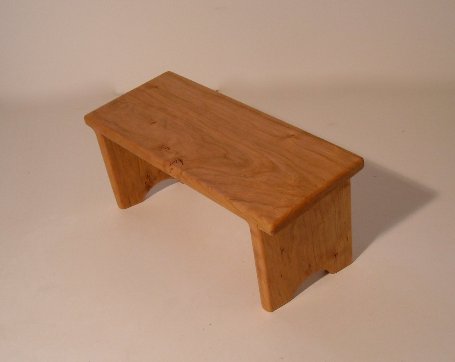 Kneeling Meditation Bench Hand Crafted Out Of Cherry Wood