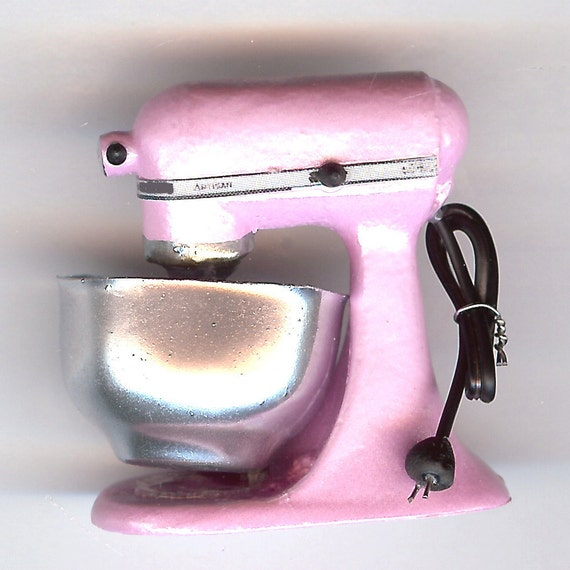 Miniature Light Pink Kitchen Counter Top Mixer For Your