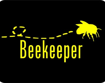 Beekeeping Sticker Beekeeper Car Sticker Bee Sticker Vinyl Decal