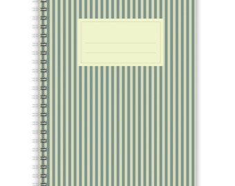 Notebook A5 - Stripes Pattern