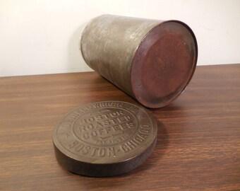 Vintage Dwinell Wright Boston Roasted Coffee Tin