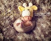 Crochet PATTERN - Crochet Patterns hat - Crochet Giraffe Hat Pattern - Includes Baby, Toddler, Kids, Adult Sizes - Photo Prop - PDF 175