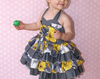 Baby Primrose's Princess Dress PDF Pattern Sizes newborn to 18/24m