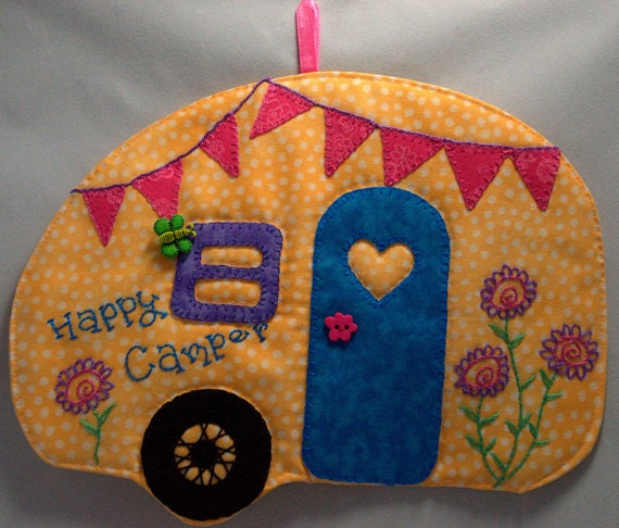 Happy Camper 24 Mug Rug
