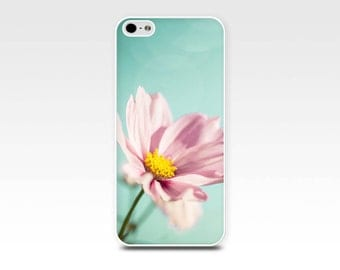 flowers iphone case iphone 5s iphone 4s case floral iphone 6 case pink iphone 4 case iphone 5 pink mint aqua pastel fine art iphone girly