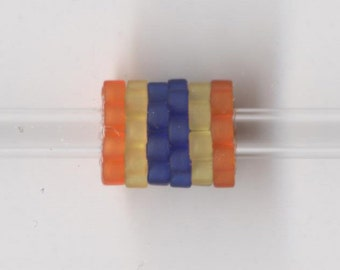 Woven Glass Bead Bead ... ... ... ... 6mm/o-2mm/i ... ... ... ... ... 06x08 * 310