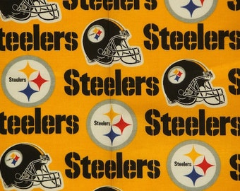 NFL Pittsburgh Steelers Cotton V2 Fabric