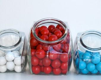 Vintage carnival game balls - Set of 3