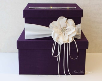 Wedding Card Box, Wedding Money Box, Gift Card Box - Custom Made