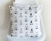 ON SALE!!! Teepee's Pillow Cover