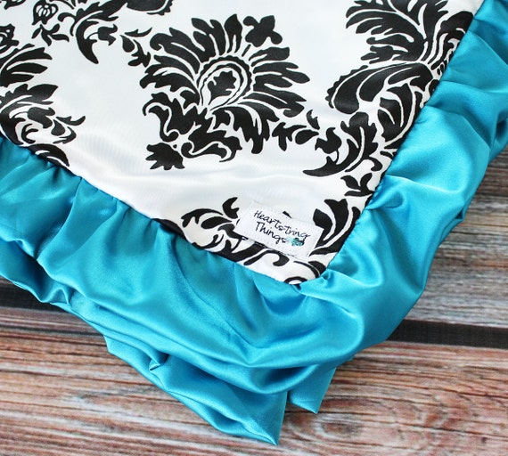 Items Similar To Add Satin Ruffle Binding To A Blanket On Etsy
