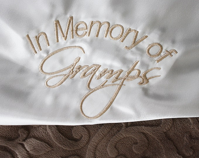 Add Embroidery to Any Blanket