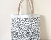 Match Sticks Tote Bag - Natural