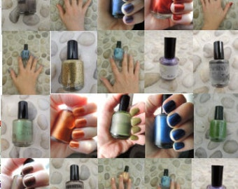 2 Polishes & 1 Top Coat - Winter Special -