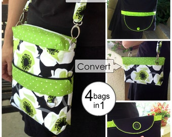 Convertible/Reversible Bag  -PDF Sewing Pattern
