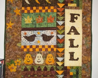 Fall wall hanging for in or outdoors