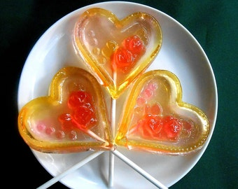 Jumbo, Candy, Heart Lollipop, Hard Candy, Heart Lollipops, I Love You, Valentine