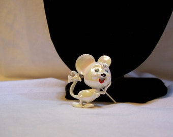 Mouse, Mouse Brooch, # 55