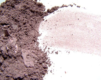 Mineral Makeup - Peaceful Rose Satin Eyeshadow -  Mineral Eyeshadow -  Eyeliner -   Vegan Makeup - Oil Absorbing Mineral Shadow