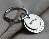 Mother Keychain - Personalize - Custom - Gift for Mom
