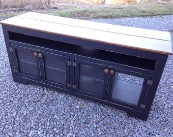 Rustic Media Consoles, Media Cabinets, Custom TV Stands