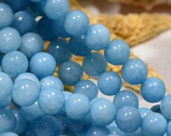 Gemstone Beads 6.7mm Quartz Beads  Jewelry Making Supplies