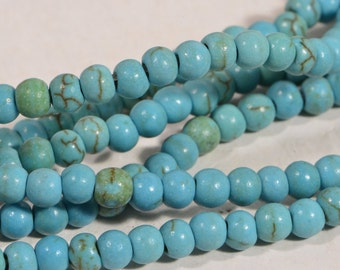 Magnesite Beads 3.3mm Gemstone Beads Jewelry Making Supplies Bead Supplies