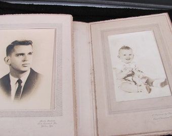 Vintage Photos Lot of 2 Black and White 5X7s from The 1940's