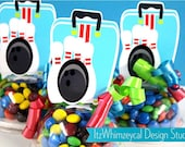 Bowling Bag | Bowling Party | Bowling Party Favors | Bowling Birthday Party | Candy Container | Party Favor | Kids Favors | Gifts