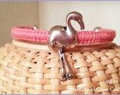 Bocean's Flora The Flamingo Ball End Bangle ~ B230 Customizable