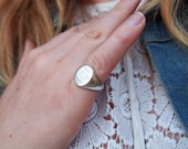 SILVER_RESERVED FOR BostonCat and FRIENDS***Custom Designed and Engraved Signet Ring, pure sterling silver