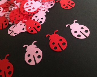 Ladybug Baby Shower - CUSTOMIZE YOUR COLORS, Ladybug 1st Birthday, Confetti Ladybugs, Baby Shower Ladybugs,Custom Confetti (100 Count)
