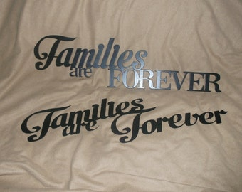 """Family Wall Hanging Decor Available in 4 Different Sizes 23""""-48"""""""