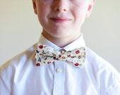 Bespoke  Pre-tied Bow Tie with adjustable strap, Wedding bow tie, Mens, teen, boy, baby