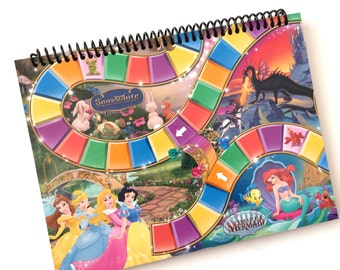 Princess CANDYLAND notebook journal Made from an actual game board CANDY