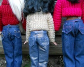 "Jeans/slacks for Barbie, Disney Princess or any other 11.5"" fashion doll"