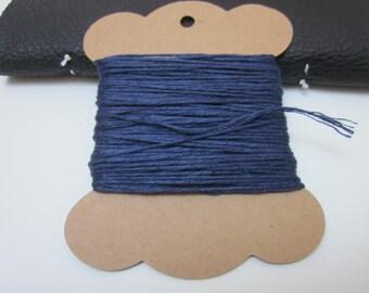 20m Dark Blue Linen Twine