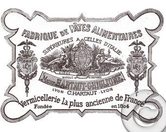 Vintage French Advertisement Digital jpg Download Print
