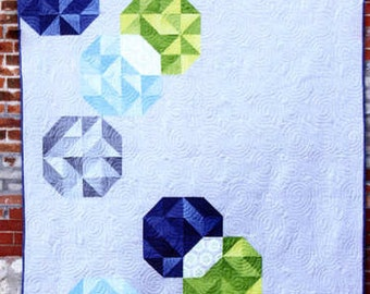 V and Co. - Bubbles Quilt Pattern