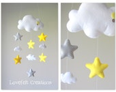 Baby mobile - Stars mobile - Cloud Mobile - Baby Mobile Cloud Stars