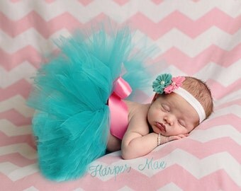 Newborn Tutu and Headband