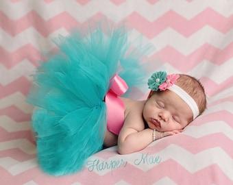 Newborn Tutu and Headband