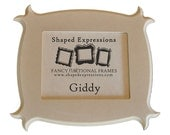 READY TO SHIP - 3x3 Giddy - unfinished picture frame